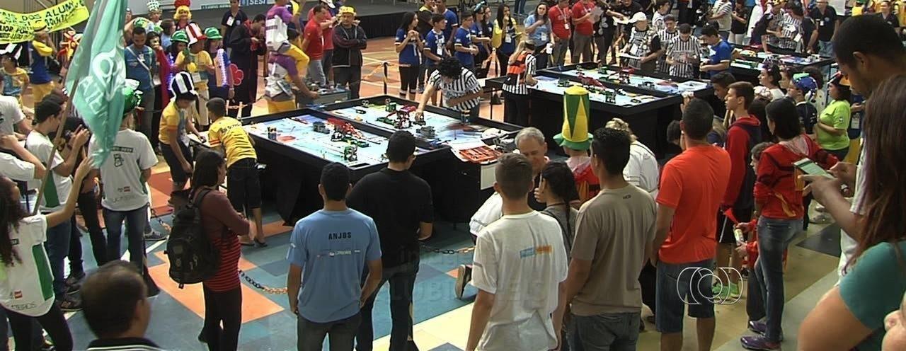 Eniac faz história no TBR-Torneio Brasil de Robótica