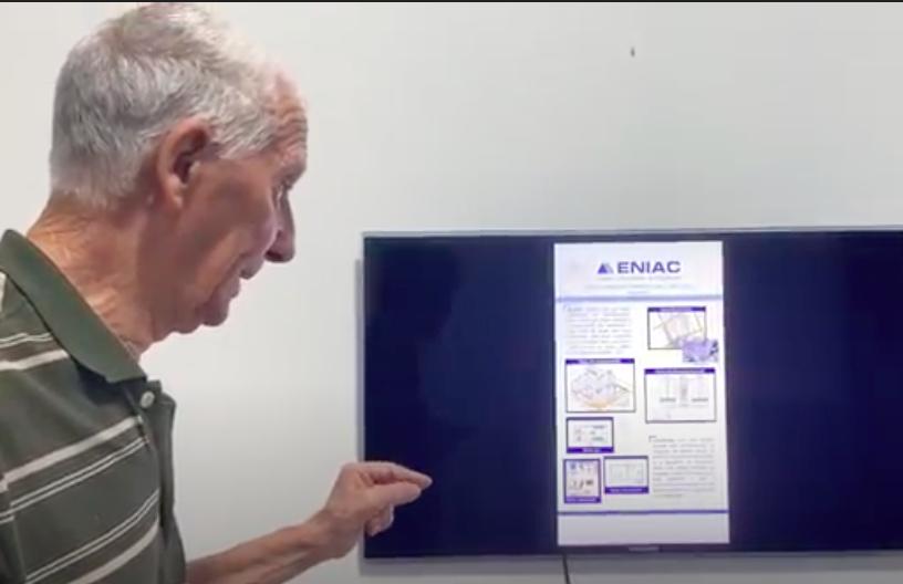 O mais novo arquiteto do ENIAC!