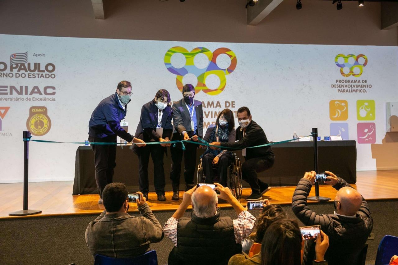 """Capacitação do """"Curso para Esportes Paralímpicos"""""""