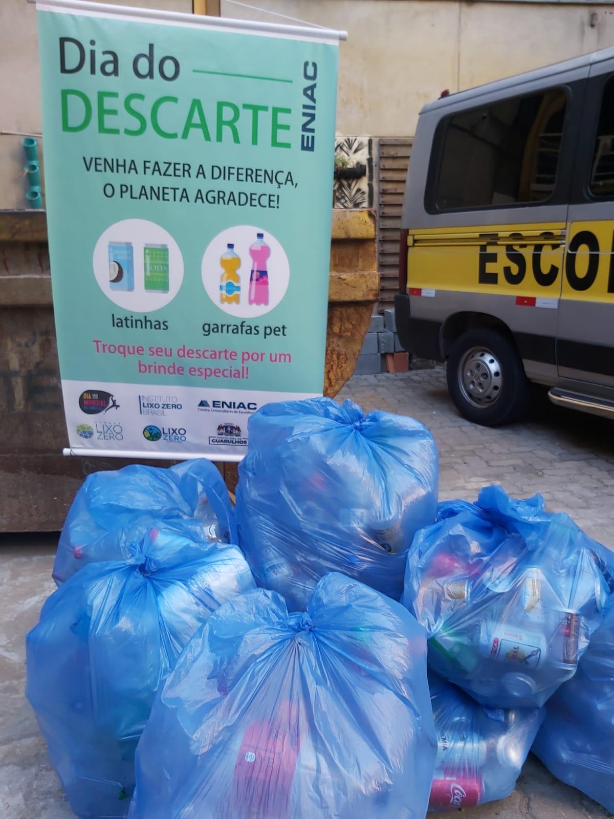 Dia do Descarte, prévia da Semana do Lixo Zero, supera expectativas