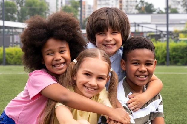 Curso de Pedagogia presente no Dia das Crianças